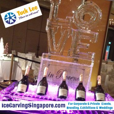 Wedding Ice Sculptures | Hire Ice Sculpture | Ice Sculpture Artist in Singapore