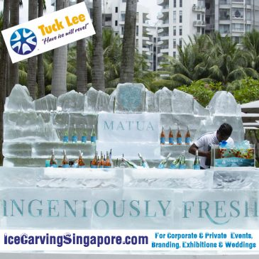 Ice Sculpture Singapore : Ice Carving for Product Launches, Weddings & Events – Tuck Lee