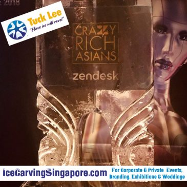 Crazy Rich Asian Ice Luge : Ice Luge Singapore | Ice Trophy
